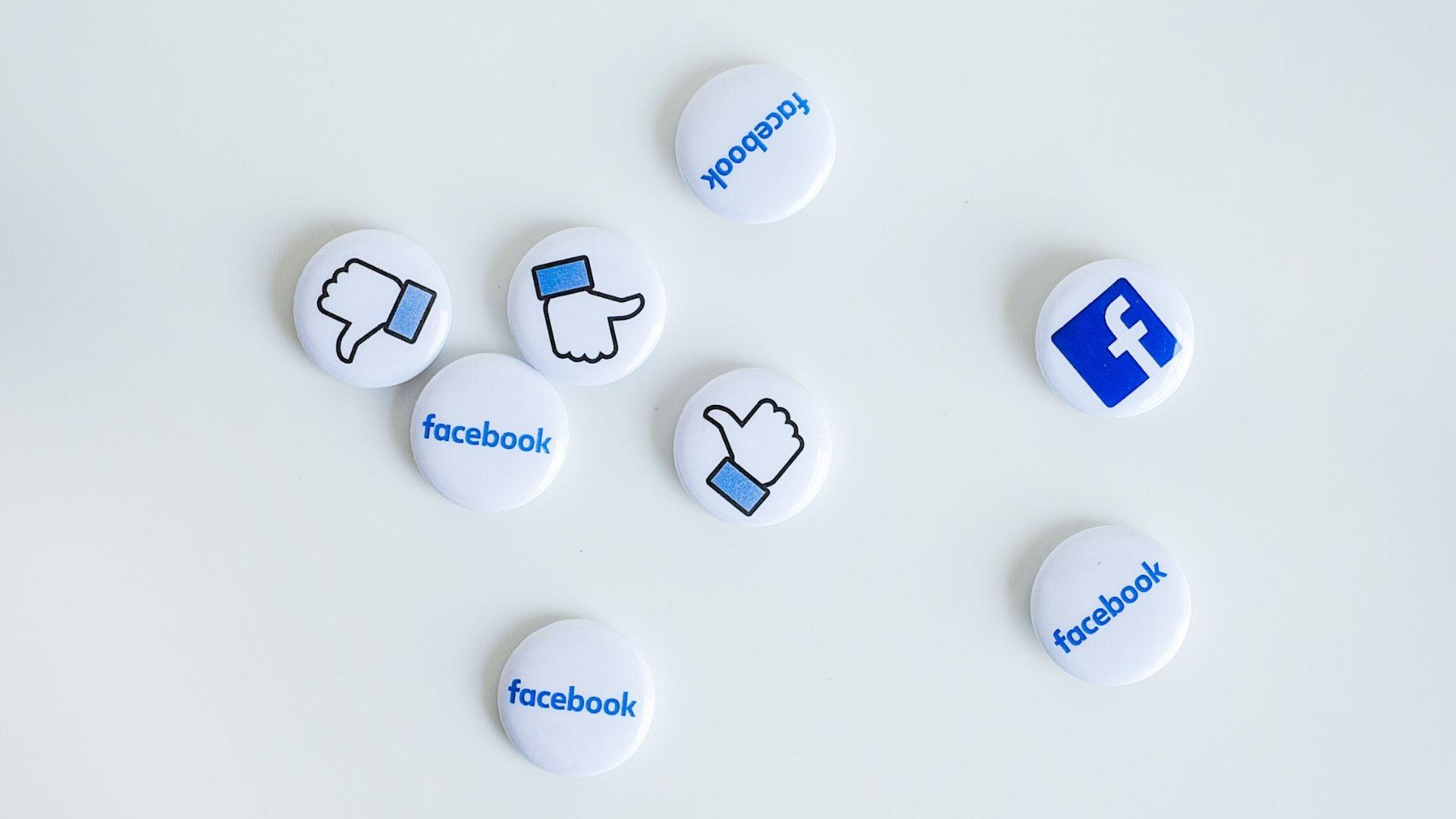 sinais sociais do facebook likes