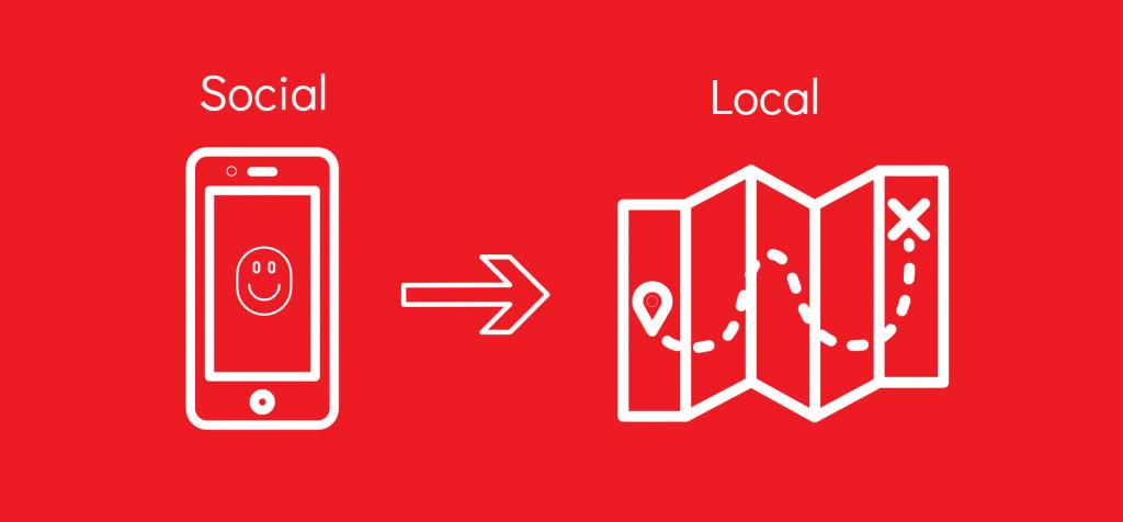 sinais sociais facebook para google mapss